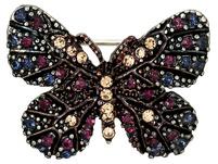 Brosche - Black Butterfly