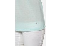 T-Shirt, Zierfalte, V-Ausschnitt