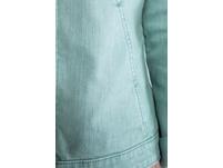 Jeansjacke, Ärmel-Stickerei, Trendfarbe