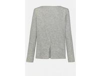 Pullover, Rückenschlitz, Rollkanten, weiche Qualität