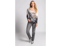 Basic-Jeans Tina, recycelt, gerade 5-Pocket-Form