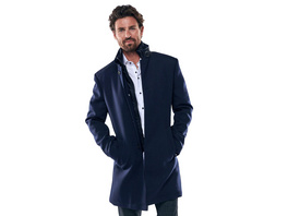 Edler Mantel mit leichter Wattierung