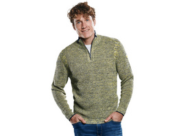 Troyer Pullover mit Stehkragen