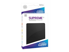 Ultimate Guard: Supreme UX Sleeves Standardgröße Schwarz