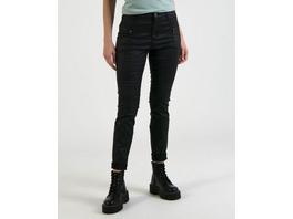 Beschichtete Hose mit Zipper