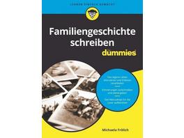 Familiengeschichte schreiben für Dummies