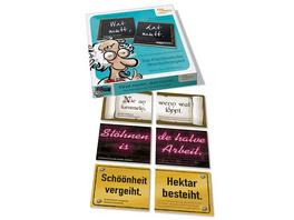 Wat mutt, dat mutt. Das Plattdeutsche Weisheiten-Spiel