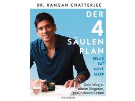 Der 4-Säulen-Plan - Relax, Eat, Move, Sleep