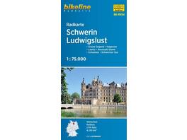 Radkarte Schwerin Ludwigslust (RK-MV04)