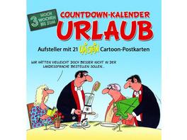 Countdown-Kalender Urlaub