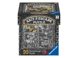 Ravensburger EXIT Puzzle 16877 - Im Gutshaus Küche -Puzzle für Erwachsene und Kinder ab 14 Jahren